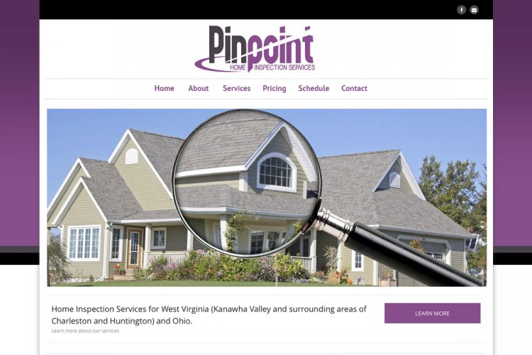 PinPoint Inspections homepage