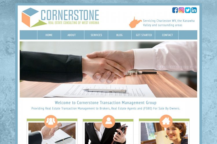 Cornerstone Consulting Homepage