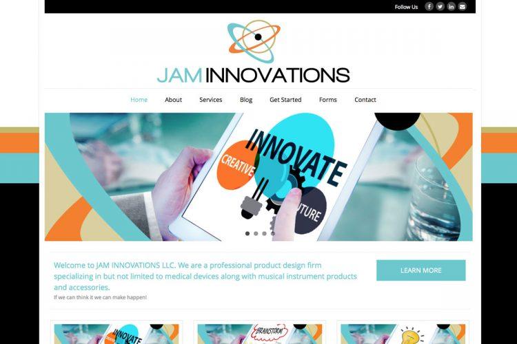 Jam Innovations Homepage