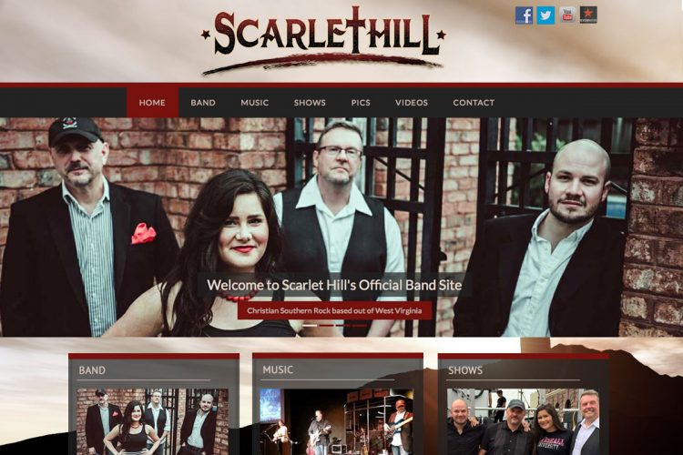 Scarlet Hill Homepage