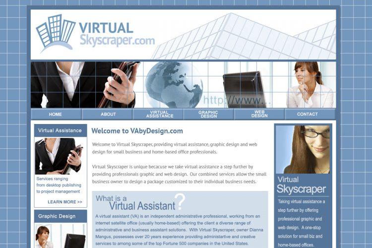 Virtual Skyscraper Homepage