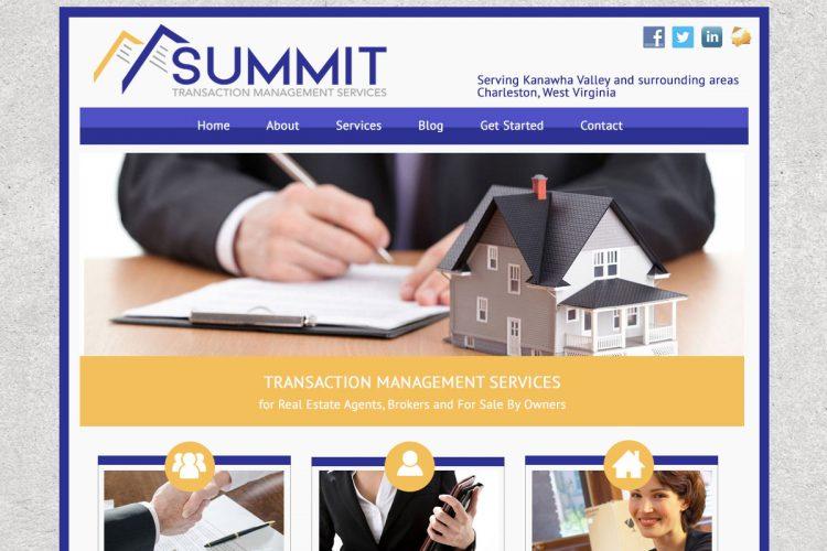 Summit Transaction Homepage